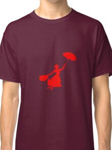 Red Miss Poppins  Classic T-Shirt