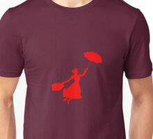 Red Miss Poppins  Unisex T-Shirt
