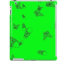 Green hearth iPad Case/Skin
