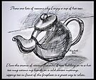 Drinking tea with me? by Elizabeth Kendall