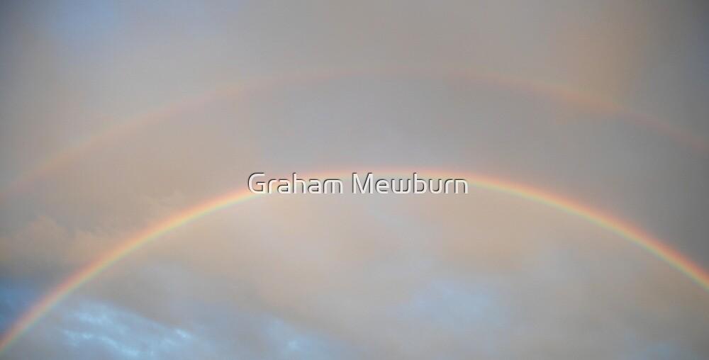 Double rainbow over Tweed by Graham Mewburn