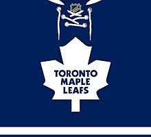 Toronto Maple Leafs Home Jersey by Russ Jericho