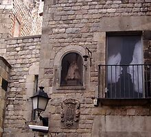 The gothic Quarter, Barcelona by Chris Leyland