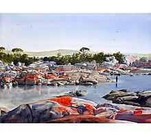 Bay of Fires, Tasmania Photographic Print