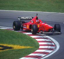 Michael Schumacher by Mark Prior