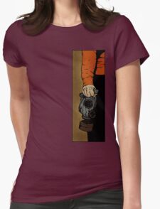 Drawing Day 2010 - Fresh Air Womens Fitted T-Shirt
