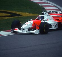 David Coulthard during the 1996 Canadian Grand Prix by Mark Prior