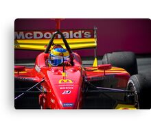 Indy Racer Canvas Print