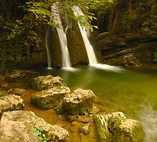Janet's Foss, Malham, Malhamdale, Yorkshire Dales by James Paul
