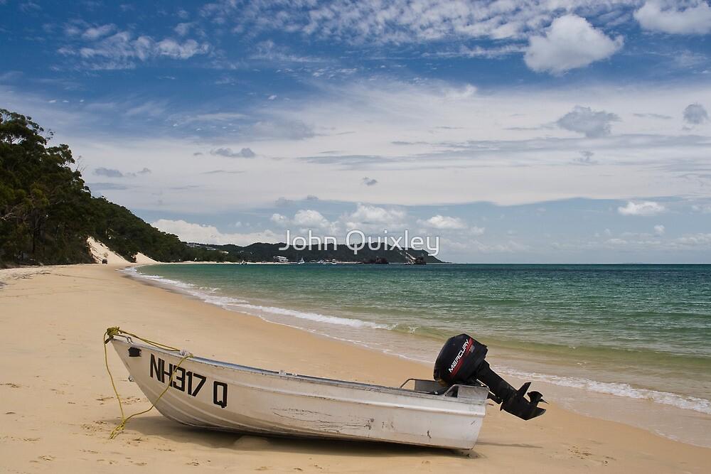 Moreton Island beachscape by John Quixley