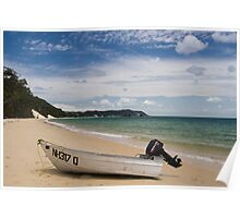 Moreton Island beachscape Poster