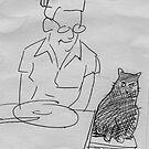 drawing day 2010 ... dinner companion by Matt Mawson