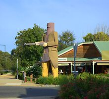 Ned Kelly by Kerry  Hill