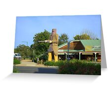 Ned Kelly Greeting Card