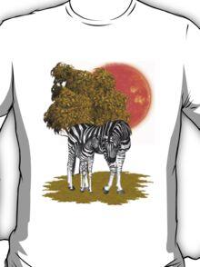 Summer Heat .. african Zebras T-Shirt