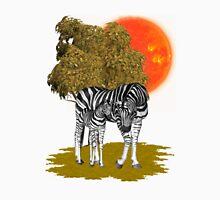 Summer Heat .. african Zebras Unisex T-Shirt