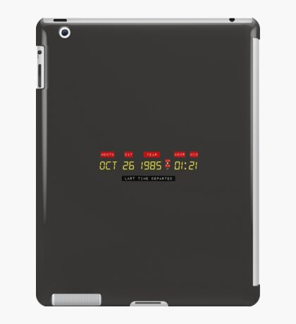 Where you were iPad Case/Skin