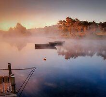 Knapps Loch Jetty by David Mould