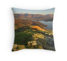 Cat Bells, Keswick, Lake District Throw Pillow