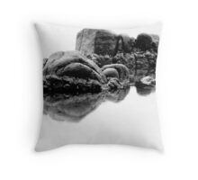 Rocky reflections  Throw Pillow