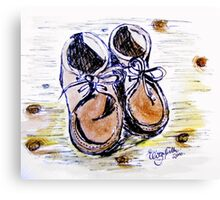 These boots are made for walking.... Canvas Print