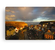 Staithes, North Yorkshire Moors Canvas Print