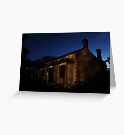Derelict Ruin Greeting Card