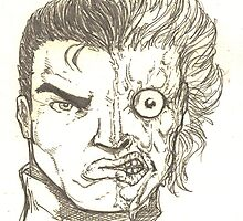Quick Two-Face sketch by Raz Solo