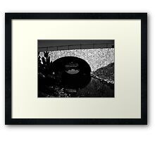 Underneath the Bridge Framed Print