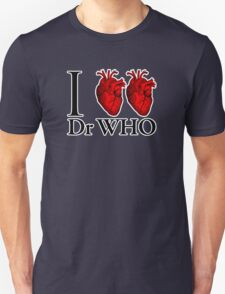 I Heart Heart Dr Who (v.2) T-Shirt