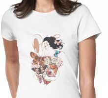 Madame butterfly Womens Fitted T-Shirt