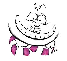 Where Pictures Shine - The Cheshire Cat by Douglas Rickard