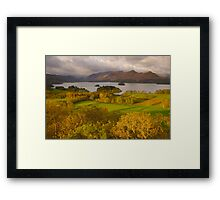 Derwent Water from Castlehead, Keswick, Lake District, Framed Print