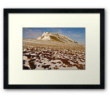 Pen-y-Ghent, Horton-in-Ribblesdale, Ribblesdale, Yorkshire Dales Framed Print