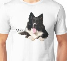 Woof - Border Collie Unisex T-Shirt
