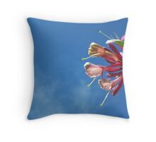 Honeysuckle Shining Throw Pillow