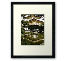 Kinkaku-ji (antique) Framed Print