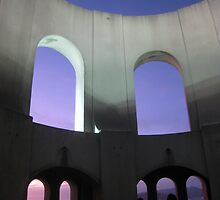 Inside Coit Tower at Dusk by Mark Prior