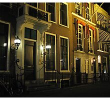 The Hague at night Photographic Print