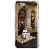 Shopping for a Black Dress in Venice, Italy iPhone Case/Skin