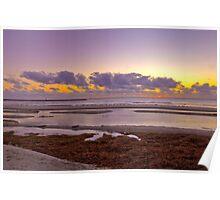 Semaphore Sunset Poster