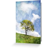 Tree in Spring Greeting Card