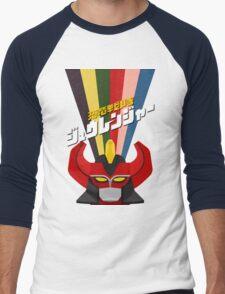 Kyoryu Sentai Zyuranger! Men's Baseball ¾ T-Shirt