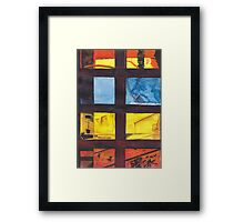 mysterious lives Framed Print