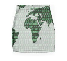 Digital earth Mini Skirt