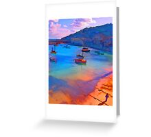 Mousehole Harbor, Cornwall - UK Greeting Card
