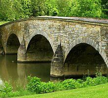 Burnside Bridge by Thad Zajdowicz