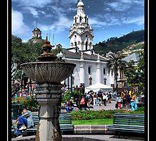 Historic Center, Quito, Ecuador by Bernai Velarde
