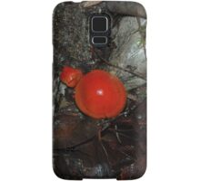 Red Toadstools in the rainforest Samsung Galaxy Case/Skin