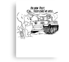 Winnie the pooh - Tigger tank Canvas Print